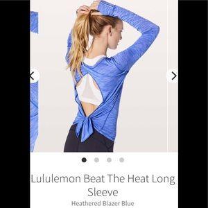 Lululemon Beat the heat Long Sleeve